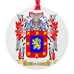 Benedicte Round Ornament