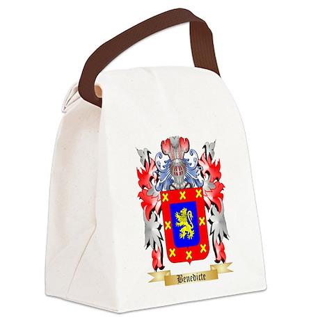 Benedicte Canvas Lunch Bag