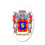 Benedict 20x12 Oval Wall Decal