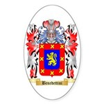Benedettini Sticker (Oval 50 pk)