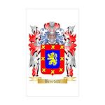 Benedetti Sticker (Rectangle 50 pk)