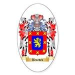 Benedek Sticker (Oval 10 pk)