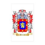 Benech Sticker (Rectangle 50 pk)