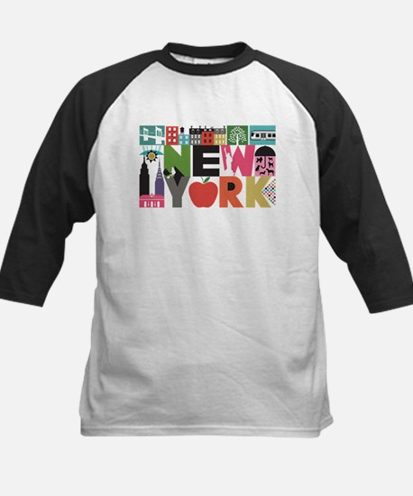 Unique New York - Block by Block Baseball Jersey