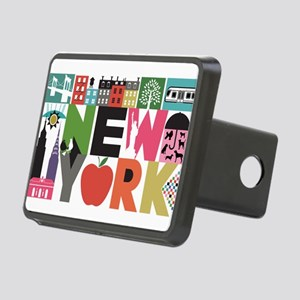 Unique New York - Block by Block Hitch Cover