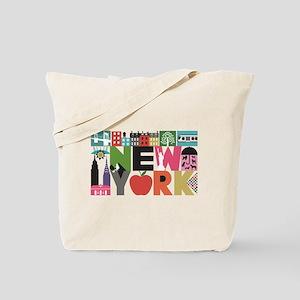 Unique New York - Block by Block Tote Bag