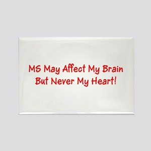 MS May Affect My Brain, But Never My Heart! Magnet
