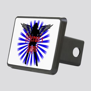 Veteran's Angel Rectangular Hitch Cover