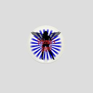 Veteran's Angel Mini Button