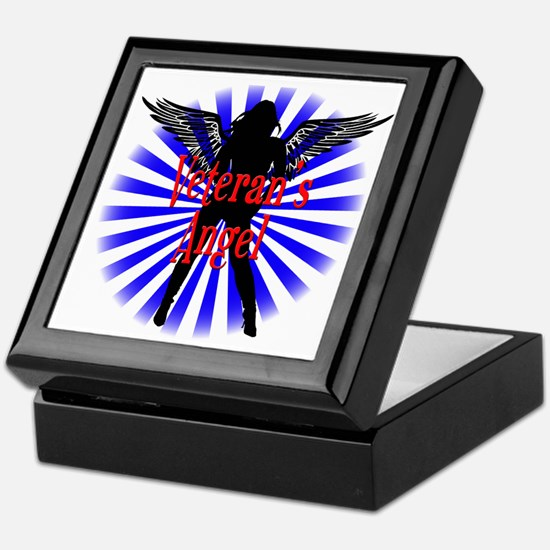 Veteran's Angel Keepsake Box