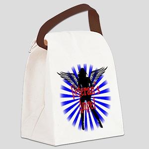 Veteran's Angel Canvas Lunch Bag