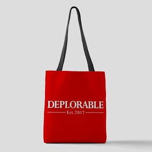 Deplorable Est 2017 Polyester Tote Bag
