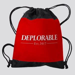 Deplorable Est 2017 Drawstring Bag