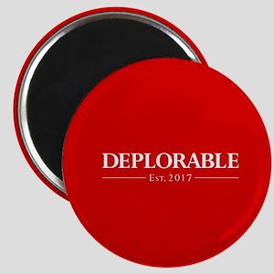 Deplorable Est 2017 Magnet