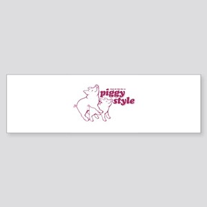 Year of The Pig 2007 Bumper Sticker