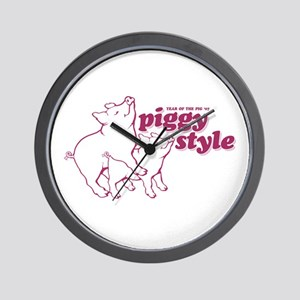 Year of The Pig 2007 Wall Clock