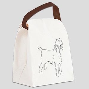 Spinone Italiano Sketch Canvas Lunch Bag