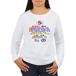FDO Cities (multi) Women's Long Sleeve T-Shirt