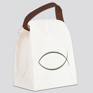Ichthus Canvas Lunch Bag