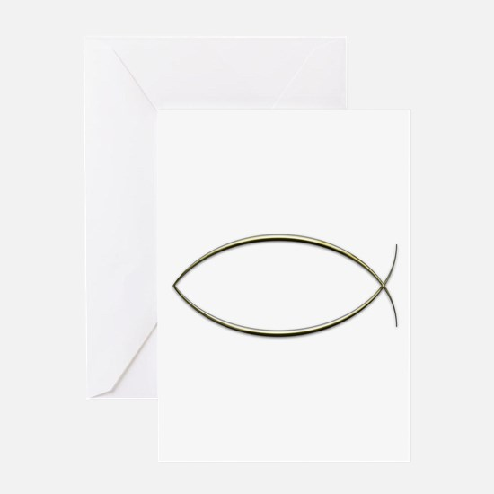 Ichthus Greeting Card