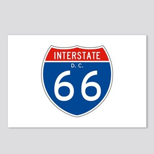 Interstate 66 - DC Postcards (Package of 8)