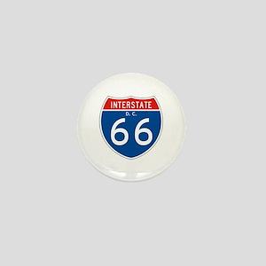 Interstate 66 - DC Mini Button