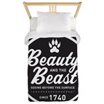 Beauty and the Beast Since 1740 Twin Duvet