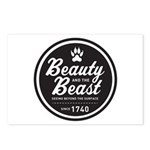 Beauty and the Beast Since 1740 Postcards (Package