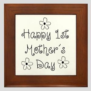 1st Mother's Day Framed Tile