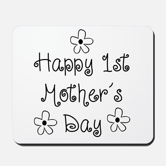 1st Mother's Day Mousepad