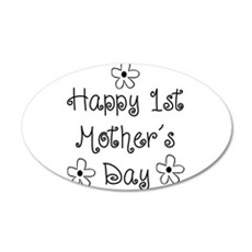 1st Mother's Day Wall Decal