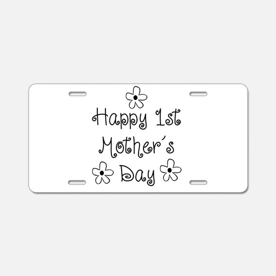 1st Mother's Day Aluminum License Plate