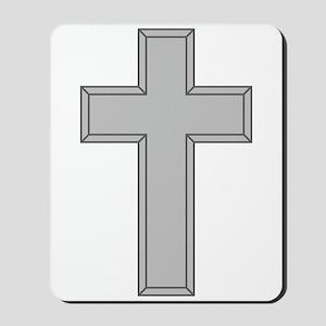 Silver Cross Mousepad