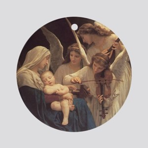 Song of the Angels Nativity Ornament (Round)