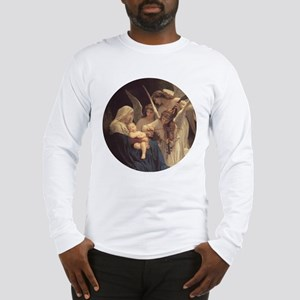 Song of the Angels Nativity Long Sleeve T-Shirt