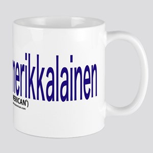 """I Am not American"" Finnish & English Mug"