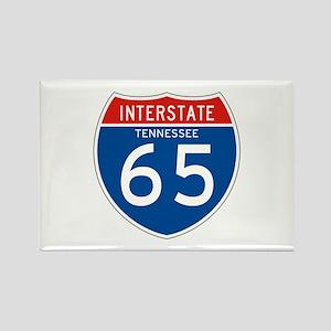 Interstate 65 - TN Rectangle Magnet