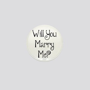 Will You Marry Me? (2) Mini Button