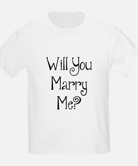 Will You Marry Me? (2) T-Shirt