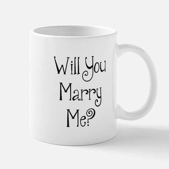 Will You Marry Me? (2) Mug