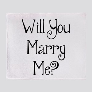 Will You Marry Me? (2) Throw Blanket