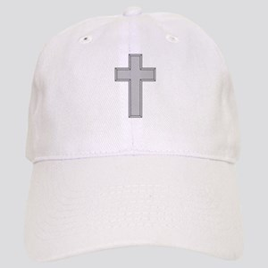 Silver Cross Baseball Cap