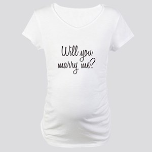 Marry Me Maternity T-Shirt