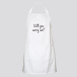 Marry Me Apron