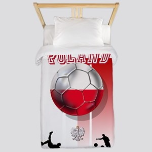 Poland Football Soccer Twin Duvet