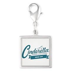 Cinderella Since 1697 Silver Square Charm