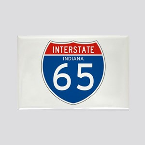 Interstate 65 - IN Rectangle Magnet