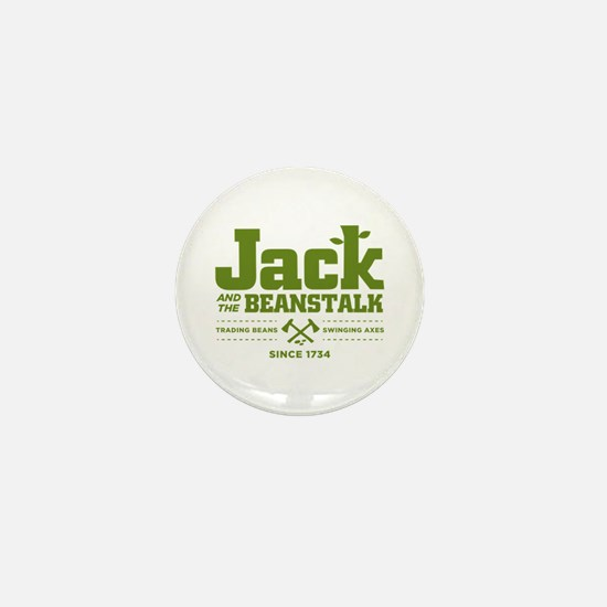 Jack & the Beanstalk Since 1734 Mini Button