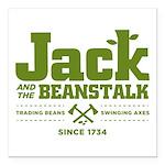 Jack & the Beanstalk Since 1734 Square Car Magnet