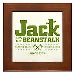 Jack & the Beanstalk Since 1734 Framed Tile